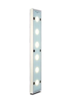 The LEDSLO surface control optic is used for surfaces with good reflection