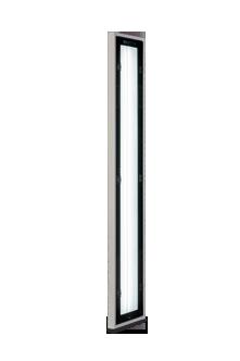 eine schmale Version der bewährten puremaxLED Oberflächenkontrolleuchte
