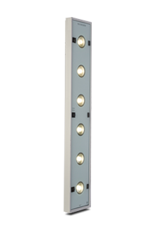 The surface control optic LEDLPO is used for surfaces with good reflection