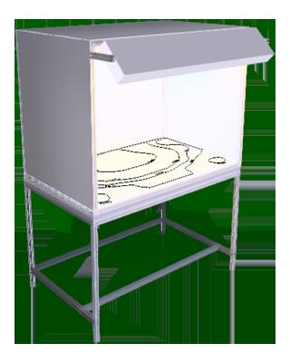 OKO Tischkabien zur Oberflächenkontrolle