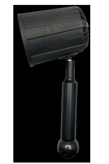 LED Handheld floodlights for surface inspection
